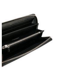 Dolce & Gabbana Black Zip-around Wallet for men
