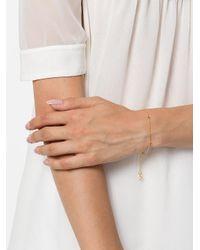 Maya Magal - Metallic Glass Bead Bar Chain Bracelet - Lyst