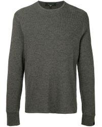 Pull Gregory Rag & Bone pour homme en coloris Gray