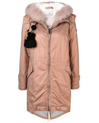 Peuterey Pink Hooded Padded Parka