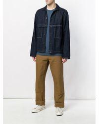 Carhartt Brown Straight Leg Trousers for men