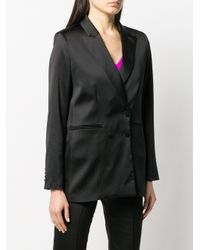 Styland Black Double Breasted Blazer