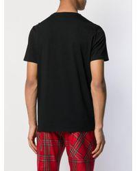 Camiseta con detalles Just Cavalli de hombre de color Black