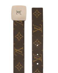 Ремень С Пряжкой-логотипом Pre-owned Louis Vuitton, цвет: Brown