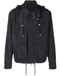 Versus  Black Zip Up Jacket for men