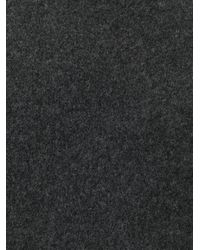 Giorgio Armani - Gray Round Neck Sweater for Men - Lyst