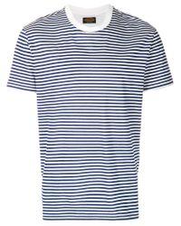 Tod's White Striped T-shirt for men