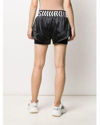 Adidas レイヤード ショートパンツ Black