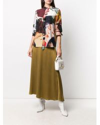 Ports 1961 プリント シャツ Brown