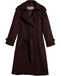 Burberry - Black Trench Coat - Lyst