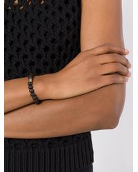Rosa Maria - Brown Breads & Charm Bracelet - Lyst
