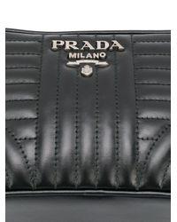 Prada ダイアグラム ベルトバッグ Black