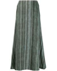 Undercover Wool Skirt Green