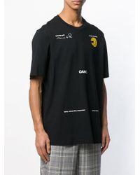 メンズ OAMC グラフィック Tシャツ Black