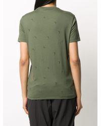 Emporio Armani ロゴ Tシャツ Green