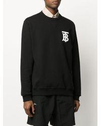 Толстовка Dryden С Логотипом Burberry для него, цвет: Black