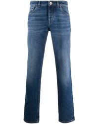 Jeans dritti di Brunello Cucinelli in Blue da Uomo