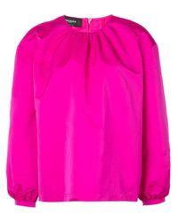 Top estilo boxy Rochas de color Pink