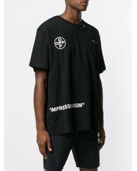 T-shirt Arrows Off-White c/o Virgil Abloh pour homme en coloris Black