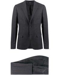 メンズ Z Zegna シングル スーツ Black