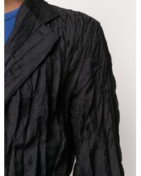 メンズ Issey Miyake シングルジャケット Black