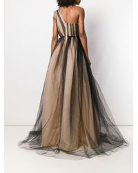 Alex Perry - Brown Alicia Gown - Lyst