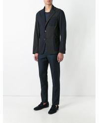 Barena Blue Two Button Blazer for men