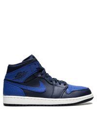 Baskets Air 1 Mid Nike pour homme en coloris Blue