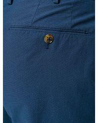 PT01 Blue Slim Fit Chinos for men