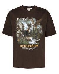 Camiseta Protect Forest Life Phipps de hombre de color Brown
