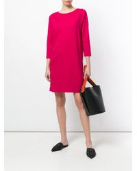 Harris Wharf London - Pink Casual Shift Dress - Lyst