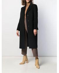 Однобортное Пальто Charlene Tagliatore, цвет: Black