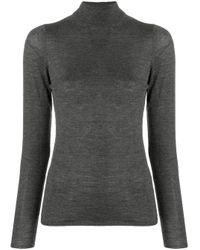 Top di maglia di Allude in Gray