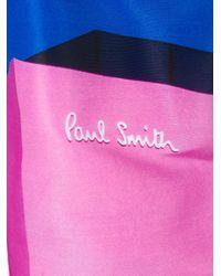 メンズ Paul Smith カラーブロック トランクス水着 Blue