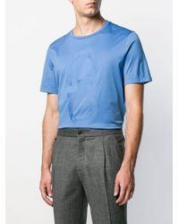 メンズ Ferragamo ガンチーニ Tシャツ Blue