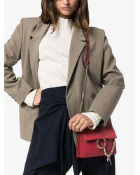 Sac porté épaule Faye Chloé en coloris Red