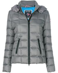 Rossignol | Gray Hooded Padded Jacket | Lyst