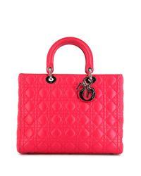 Dior レディ ディオール ハンドバッグ Pink