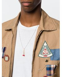 DSquared² - Metallic Matchstick Necklace for Men - Lyst