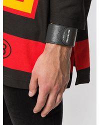 Balenciaga Armband mit Logo in Black für Herren