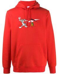 メンズ Reebok Tom And Jerry パーカー Red
