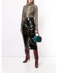 Top con estampado de piel de serpiente Victoria Beckham de color Multicolor