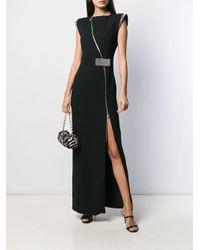 Vestido de fiesta con detalles de cristal John Richmond de color Black