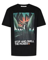 Children of the discordance Black Oil Painting Graphic-print T-shirt for men