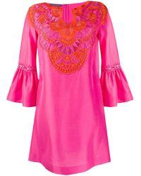 Alberta Ferretti カフタン ドレス Pink