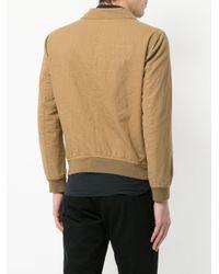 Kent & Curwen - Brown Three Pocket Shirt Jacket for Men - Lyst