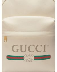 Mochila Print Gucci de color White