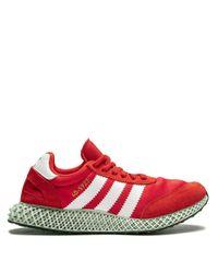 メンズ Adidas I X 4d スニーカー Red