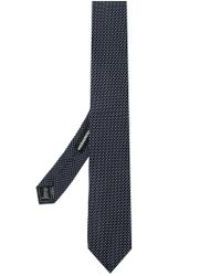 DSquared² Blue Dotted Tie for men