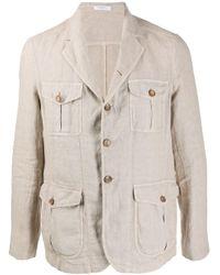 メンズ Boglioli シャツジャケット Multicolor